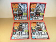 PLAYMOBIL KNIGHTS NEW BLISTER PACKS 4 of (Medieval Figures for Castle BNIP)