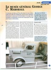Musee Museum General George Marshall Tractor Oshkosh Nederland Char FICHE FRANCE