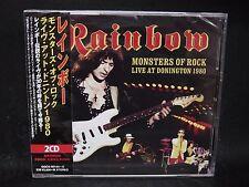 RAINBOW Monsters Of Rock Live At Donington 1980 JAPAN 2CD Deep Purple Whitesnake