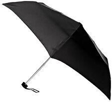 Fulton Ladies Mens Ultralite -1 Compact Folding Umbrella Black