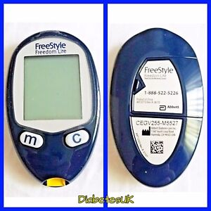 FreeStyle Freedom Lite Blood Glucose Meter/Monitor - Single Unit Meter Only