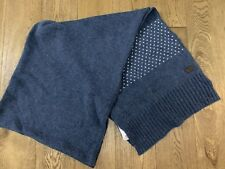 e87722529bae Lacoste Blue With White Dotted Wool Scarf One Size-
