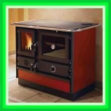 10,7kW Küchen-Herd wasserführend 6-14kW Kamin-Ofen Holz-Vergaser Dauerbrand-Ofen