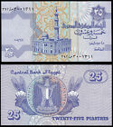 EGYPT 25 PIASTRES (P57) 2008 UNC