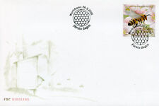 Aland 2018 FDC Beekeeping Bees 1v Set Cover Flowers Insects Stamps