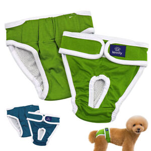 Dog Diapers Physiological Pants Washable Female Dog Shorts Soft Pants Underwear