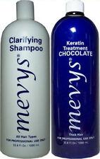 MEVYS 1)CLARIFYING SHAMPOO 33.8 OZ - 1)CHOCOLATE KERATIN TREATMENT 33.8 OZ