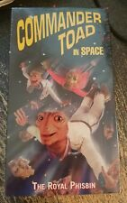 Commander Toad In Space: Royal Phisbin VHS Movie NEW