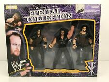 """1998 JAKKS Undertaker """"Lord of the darkness"""" WWF Special Collection 3 pack Figs"""