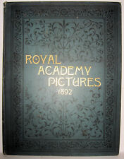 Royal Academy Pictures Magazine of Art Twenty-fourth Exhibition 1892 Scarce!