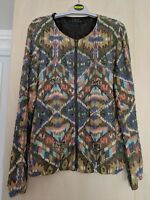 23ff023a82 Emily Sharp Handmade Cropped Hoodie. Navajo print. One Size
