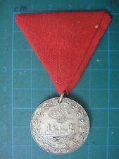 Hejaz Railway Railroad Medal With Ribbon Turkey Ottoman Saudi Arabia