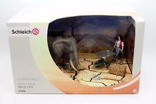 SCHLEICH Schleich 41409 Elefanten-Pflege-Set Afrika Wildlife Elefanten NEU + OVP