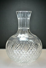JAMES D. BERGEN AMERICAN BRILLIANT PERIOD ABP CUT CRYSTAL WATER / WINE CARAFE