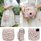 Flower Leather Camera Case Bag Protector For Fujifilm Polaroid Instax Mini8 HOT