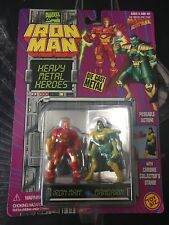ToyBiz - Iron Man - 1994 Heavy Metal Heroes - Iron Man vs Mandarin