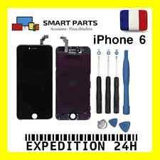 ECRAN LCD RETINA + VITRE TACTILE COMPLET SUR CHASSIS IPHONE 6 NOIR + OUTILS