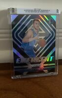 RARE Luka Doncic Rookie Card RC SILVER Prizm Emergent Refractor Mavs Panini #3