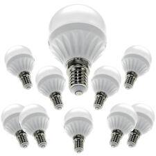 10er e14 5w g45 Lampada LED LAMPADINA LAMPADA BULB 400 lumen 3000k BIANCO CALDO GLOBO