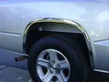 2005 – 2014 DODGE DAKOTA STAINLESS STEEL FENDER TRIM (W/O OEM FLARES)