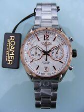 Roamer Mens Swiss Made Watch Superior Chrono II 510902 49 14 50 NEW