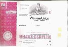 Western-Union Telegraph Co., 1960s, red