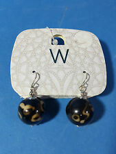 Women's Long Natural Bead Stone Dangle Drop Fashion Earrings Jewellery