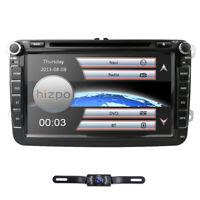 "8"" Car Stereo GPS Sat Nav CD DVD Player for VW Golf MK5 MK6 Tiguan Caddy"