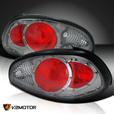 1997 2003 Pontiac Grand Prix Anium Rear Tail Light Smoke Replacement Pair