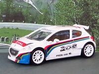 "PEUGEOT 208 T16 1:60/3""  2013 (White) NOREV/PEUGEOT Diecast Car"