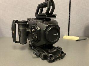 Blackmagic URSA mini 4k EF Mount* Shoulder Mount *SSD recorder
