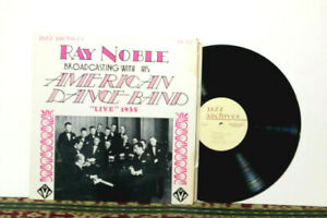 """Ray Noble Orchestra: American Dance Band - """"Live"""" 1935 - 1975 LP Swing Jazz - NM"""