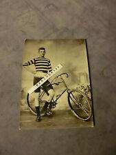 RAR Foto Eilrad Dortmund Radrennfahrer um 1900 Silbergelatine