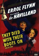 They Died With Their Boots On - Region 2 Compatible DVD (UK seller!!!) Errol NEW