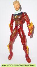 marvel legends HUMAN TORCH johnny storm fantastic four 4 toy biz flame on 2004