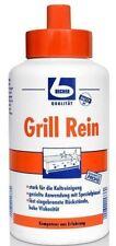 Dr. Becher Grill Rein 1 Liter mit integriertem Pinsel für Grills und Fritteusen