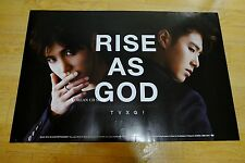 Dong Bang Shin Ki TVXQ -  RISE AS GOD *Official POSTER* KPOP