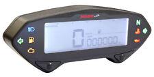 Tachometer mit Drehzahlmesser DB01RN KOSO Digital blau beleuchtet E-Prüfzeichen