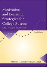 Motivation and Learning Strategies for College Success: A Self-Management