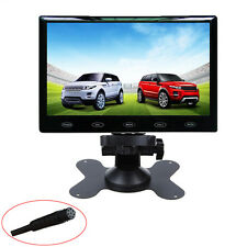 US HD 9'' Ultra Thin 800x480 TFT LCD Color Audio HDMI VGA Car Rear View Monitor