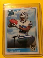 🔥🔥DONRUSS OPTIC MICHAEL GALLUP RATED ROOKIE RC #174 Cowboys
