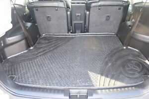 Genuine Toyota Kluger Rubber Cargo Mat May 2007 - Dec 2013 PZQ20-48082