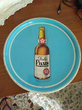 Birra Itala Pilsen vassoio in latta anni 60 buonissima Padova