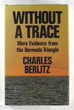 WITHOUT A TRACE by CHARLES BERLITZ (1977) - Hardback - 1st Edition