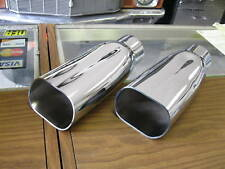 70 71 72 CHEVELLE SS MONTE CARLO CHROME EXHAUST TIPS