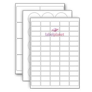A4 Matt White Polyethylene for Laser or Inkjet Printer, Waterproof Label Planet®
