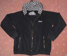 Sweater New York Textil SMOG Größe M schwarz Kapuze innen schwarz weiß kariert A