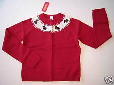NWT Gymboree Holiday Friend Womens L 10-12 Scottie Dog Cardigan Sweater for Mom