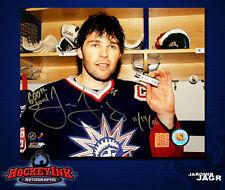 Jaromir Jagr SIGNED New York Rangers 8X10 Photo w/ 600th Goal Inscription -70395