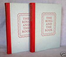 ROBERT BROWNING,  RING & THE BOOK  1949  Lmt. Ed. SIGNED  Illustrated  Fine Arts